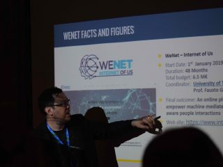 WeNet at European AI Alliance Assembly and  WOA 2019