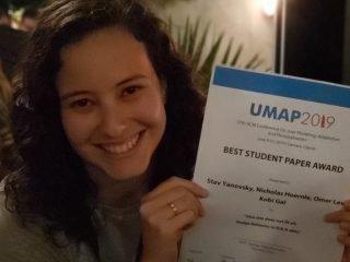 Best paper award for WeNet partners at BGU