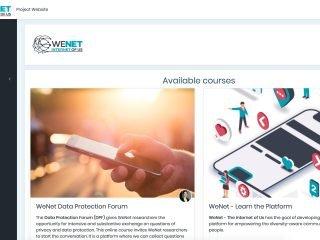 WeNet eLearning Platform